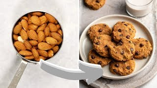 How to Make Almond Milk + Almond Pulp Cookies!