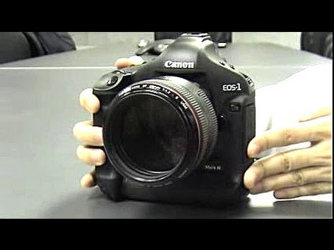 Canon EOS 1Ds Mark III First Hands-on Review DigitalRev ...
