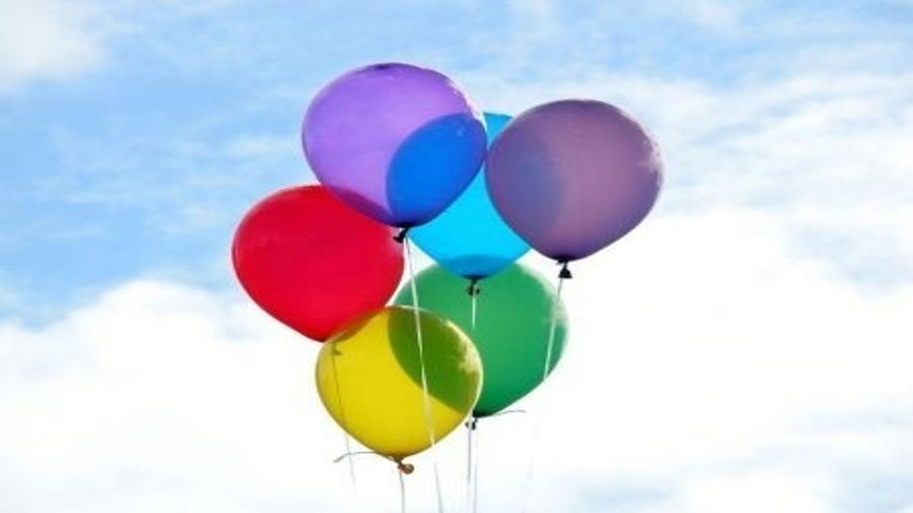 L'astuzia per gonfiare i palloncini e farli volare senza ...