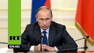 Putin: Escudo antimisiles de EE.UU. busca anular potencial nuclear ruso