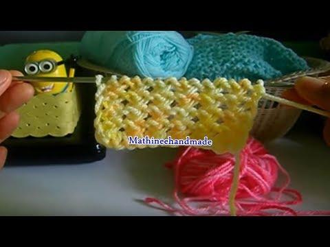 How to Knitting heart /นิตติ้งหัวใจน้อยน้อย _ Mathineehandmade