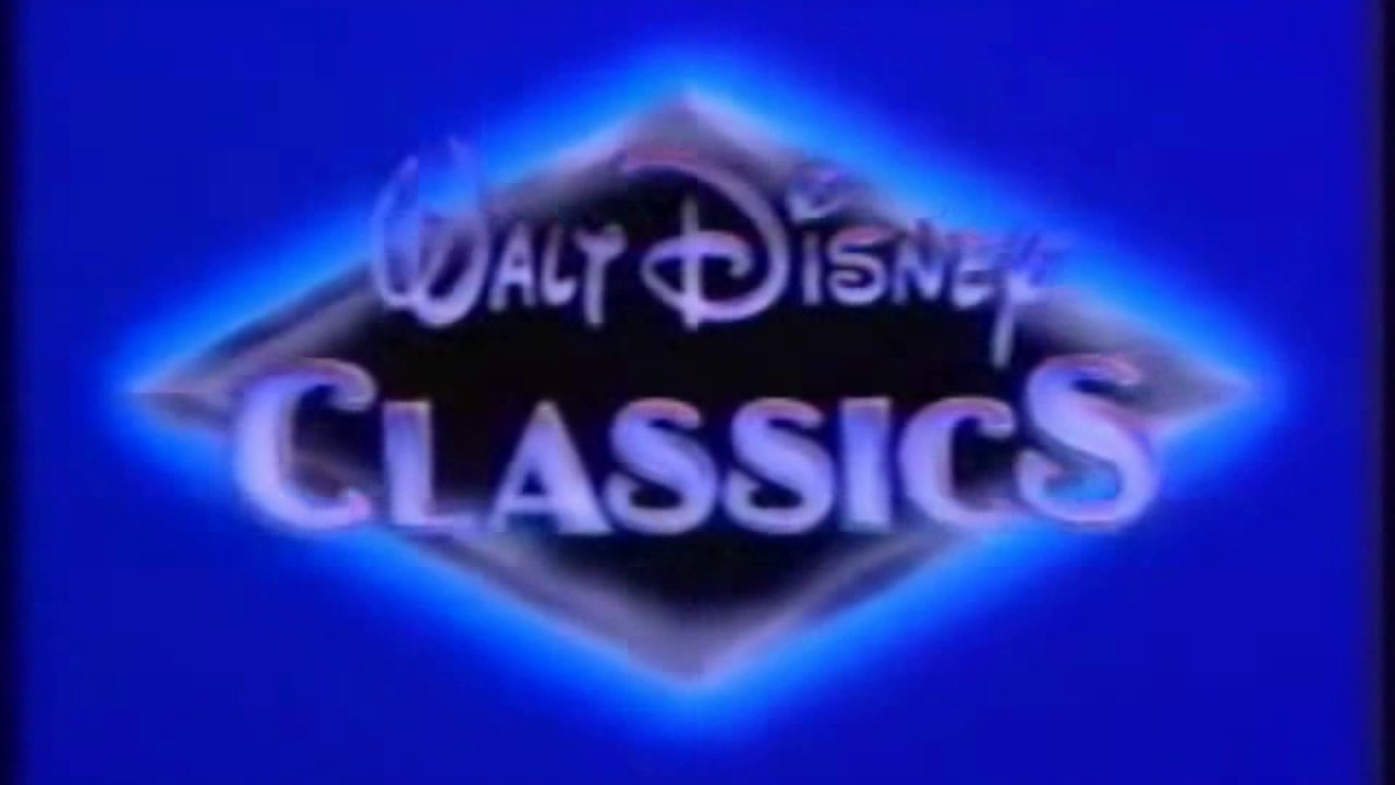 Walt Disney Classics 1993 Logo Fast And Slow Youtube