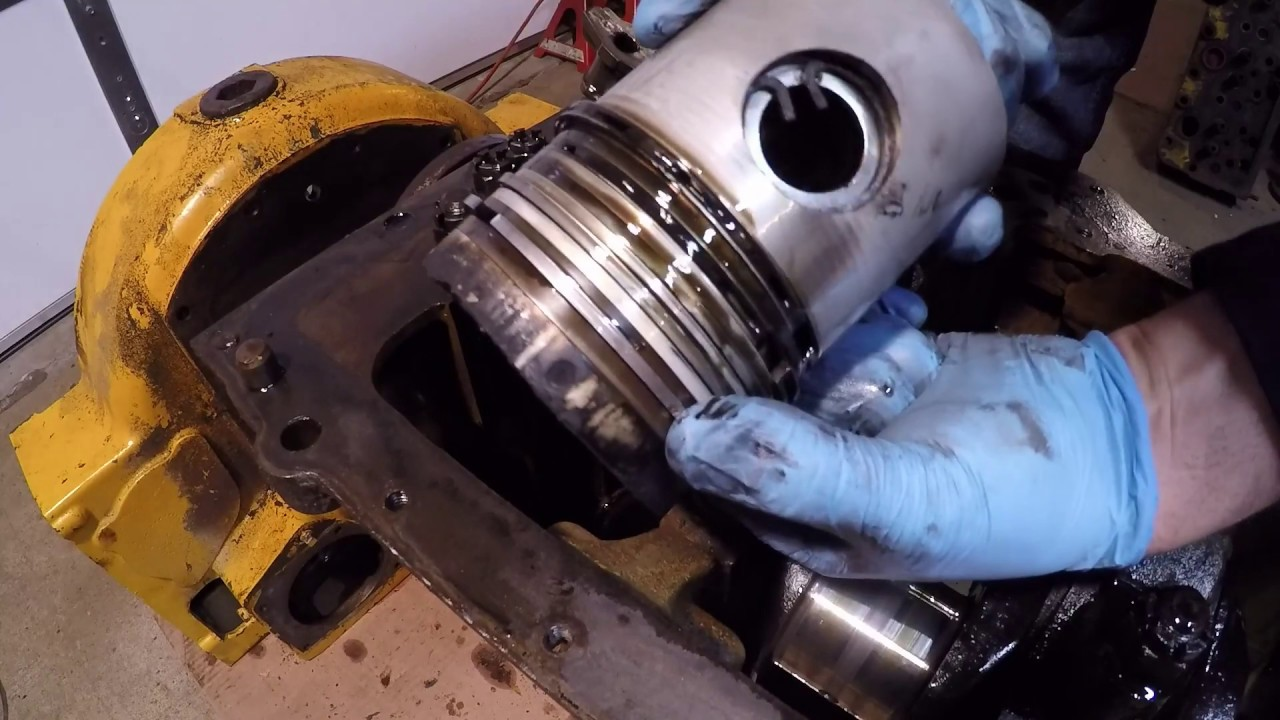 Caterpillar D2 #5J2115 SP - Engine Teardown for Parts Day 5