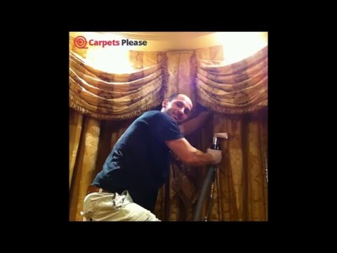 Curtain Cleaning services from Carpets Please Ltd.