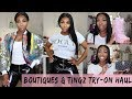 Thick Girl Try-On Haul, Shoes + Accessories ft. POSHBYV, ROSS, SHUDEALS, ETC| KennySweets