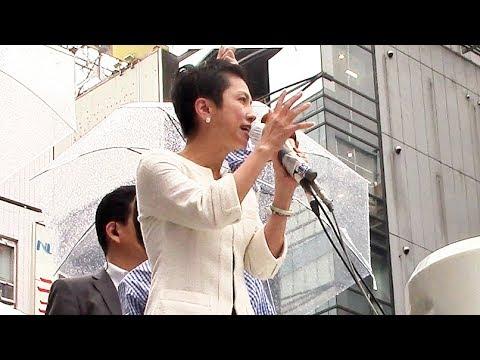 「土地9億円が値引きにー、安倍総理のオトモダチガー」@東京銀座・街頭演説