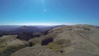 GoPro on Trex700 at Russian Ridge Open Space Preserve