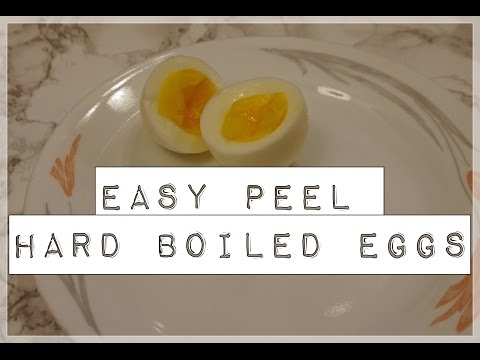 Instant Pot – easy peel hard boiled eggs
