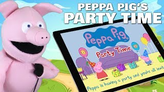 Peppa Pig's Party Time - Birthday App For Kids | Review & Gameplay