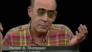 Hunter S. Thompson interview (1997)