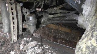 Замена шарнирной рулевой тяги Chevrolet Lacetti