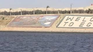 قناة السويس الجديدة: أقتحام جسر نمرة 6 وتجهيز قناة اتصال بين القناتين