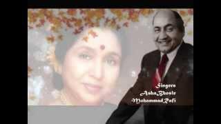 तुम रूठ के मत जाना..Phagun1958_Rafi_Asha Bhosle_Q J _OP Nayyar..a tribute