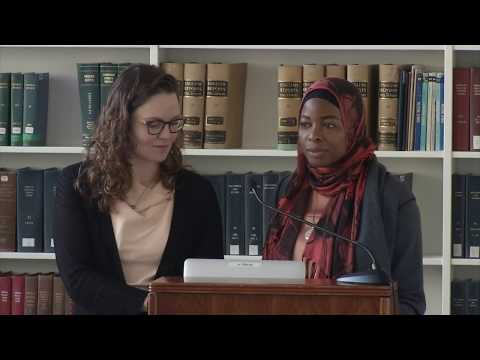 "HLS Library Book Talk | ""Justice and Leadership in Early Islamic Courts"""
