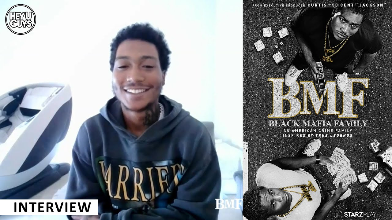 Lil Meech Talks Starring As His Father Big Meech On Starz 'BMF' [VIDEO]