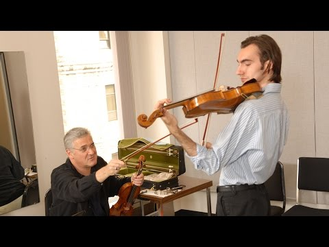 Pinchas Zukerman and David Aaron Carpenter, Rolex Mentor and Protégé in Music, 2006 - 2007