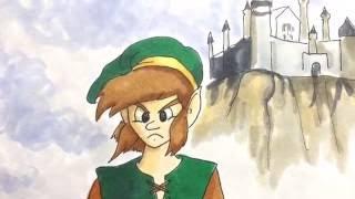 WATCH ME DRAW LINK from Legend of Zelda