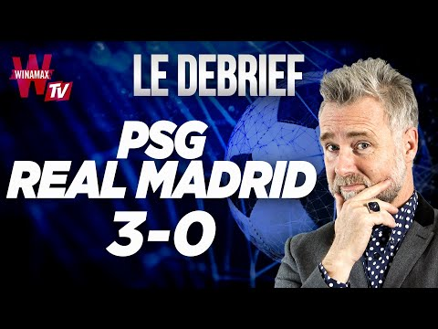 ⚽ PSG 3 - 0 Real Madrid, le débrief
