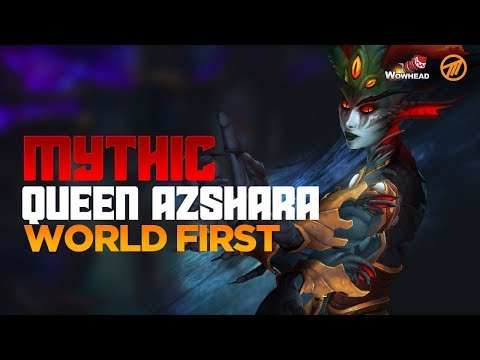 Method VS Queen Azshara WORLD FIRST - Mythic The Eternal Palace