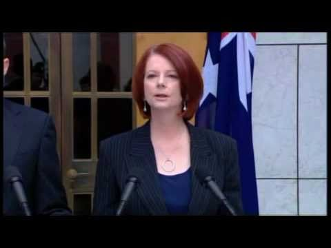 Press Conference on Asbestos Victims Compensation: Julia Gillard & David Bradbury