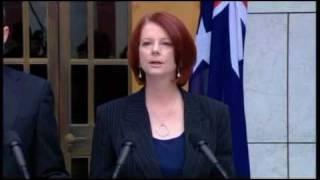 Press Conference on Asbestos Victims Compensation: Julia Gillard & David Bradbury