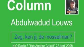 Zeg, ken jij de mosselman? (column) www.abdulwadud.nl