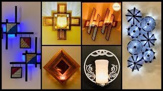 6 New Very Unique Wall Decorating Ideas with Lights| gadac diy| Craft Ideas for Home Decor