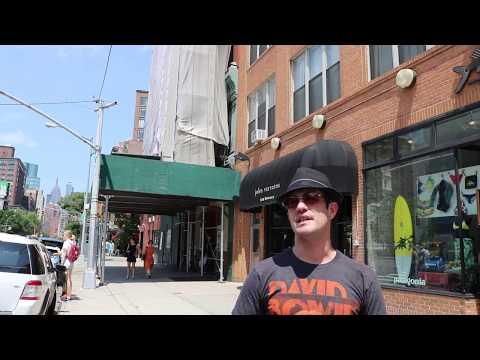 NYC Walking Tour CBGB's