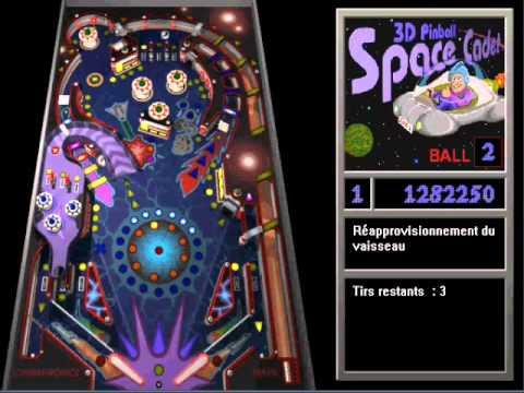 pinball cadet de l espace gratuit