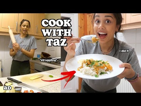 i tried to cook eastern asian food...cook with taz | clickfortaz