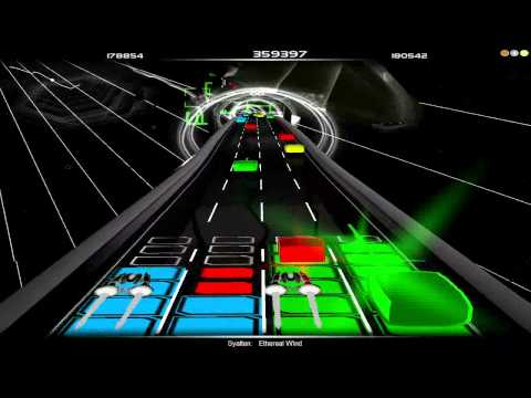 Audiosurf: syatten - Ethereal Wind (Dounble Vision Elite)