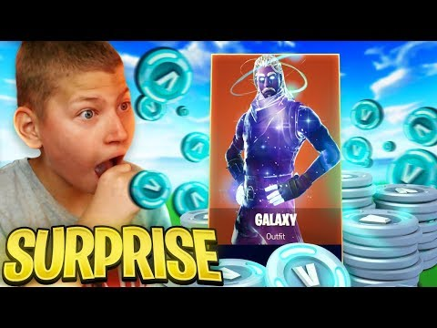 "SURPRISING JAYDEN WITH THE GALAXY SKIN!! ""BEST DAY OF MY LIFE"" *EMOTIONAL* FORTNITE BATTLE ROYALE!"