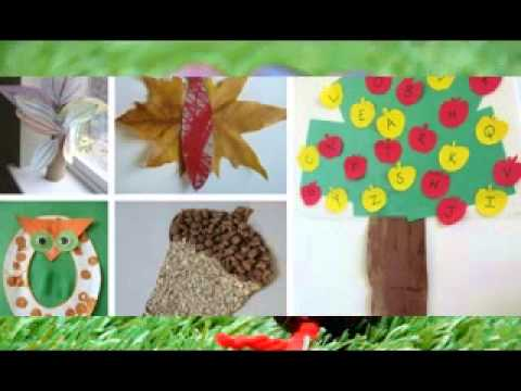 Cute Autumn Craft Ideas For Kids Youtube