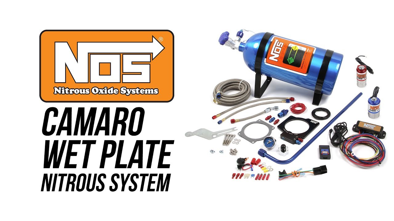 NOS 2010 - 2015 Camaro LS3 Wet Plate Nitrous System