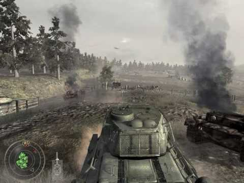 Call of DUty 5 : Tank mission part 1 [HQ] - YouTube
