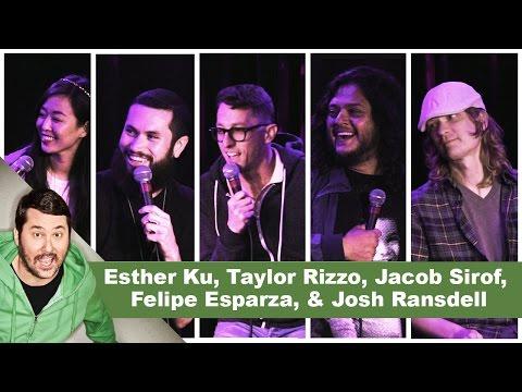 4/20 Show! Esther Ku, Taylor Rizzo, Jacob Sirof,  Felipe Esparza, & Josh Ransdell