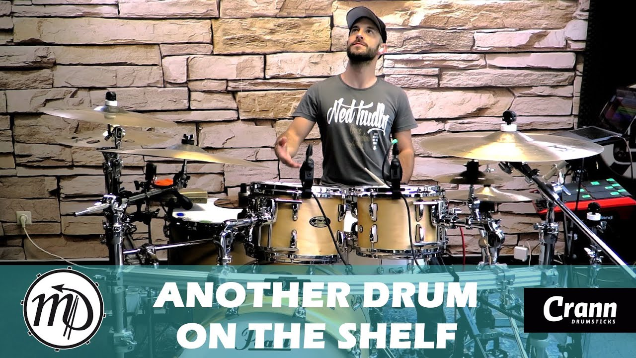 Another drum on the shelf - Jay Deachman - Drum Cover Drumeo (Rock) PEARL Maple Gum