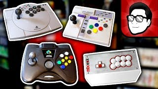 Arcade Controllers - Collection Showcase!   Nintendrew