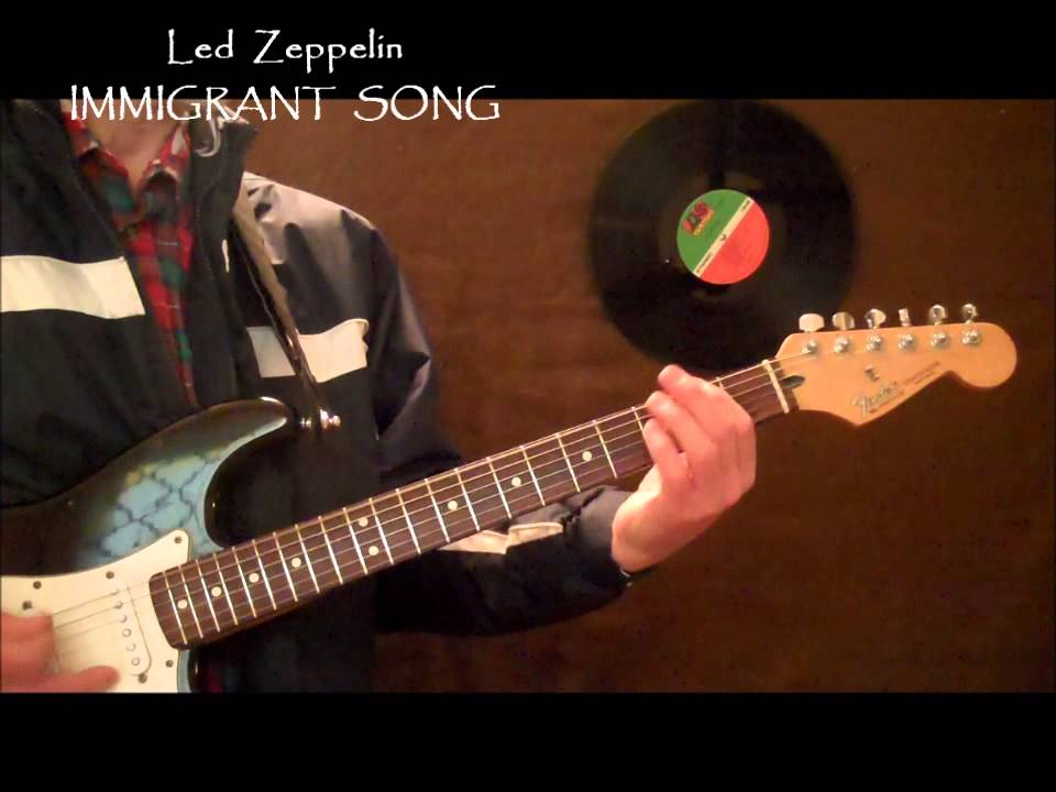 Led Zeppelin Digital Guitar Synth Immigrant Song Chord Melody