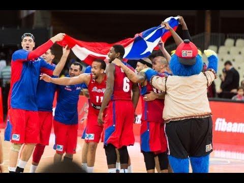 #FIBAAmericas - Day 12: Dominican Republic v Puerto Rico (highlights)