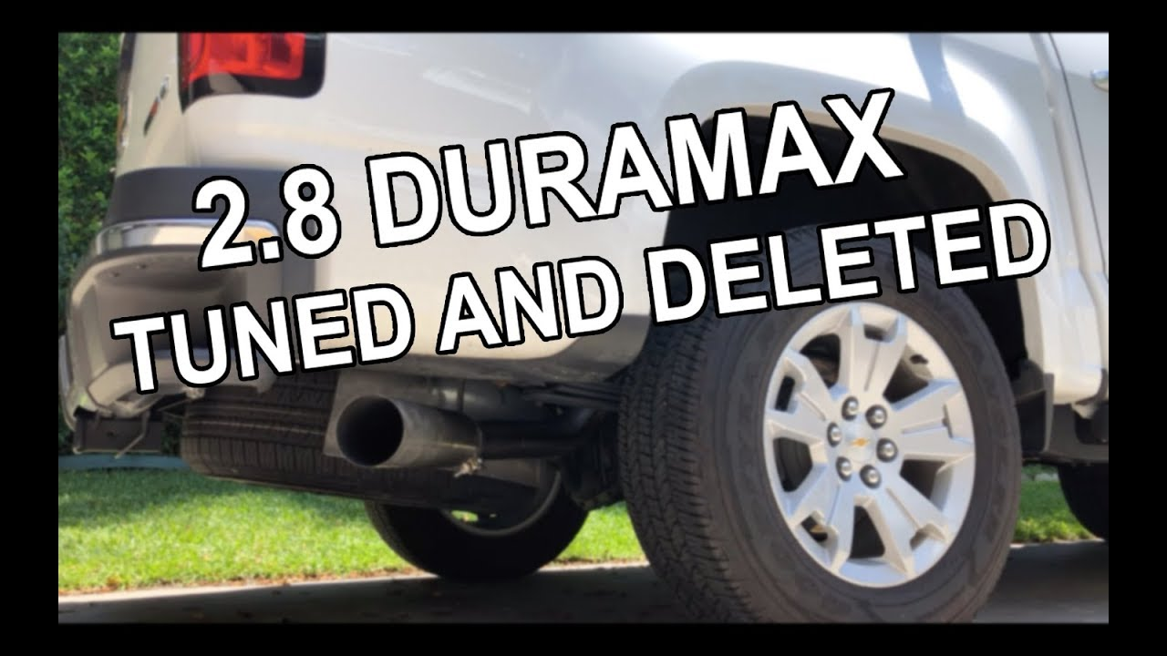 2017 Chevrolet Colorado 2 8 Duramax Tuned And Deleted Sound First