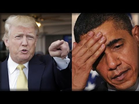 TRUMP JUST SHAMED OBAMA IN FRONT OF THE WORLD WITH WHAT HE REVEALED AND MADE EVERY AMERICAN CHEER!
