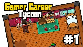 BECOMING FAMOUS - Gamer Career Tycoon #1