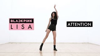 Blackpink Lisa's Solo Stage 'Attention' Dance Tutorial Mirrored