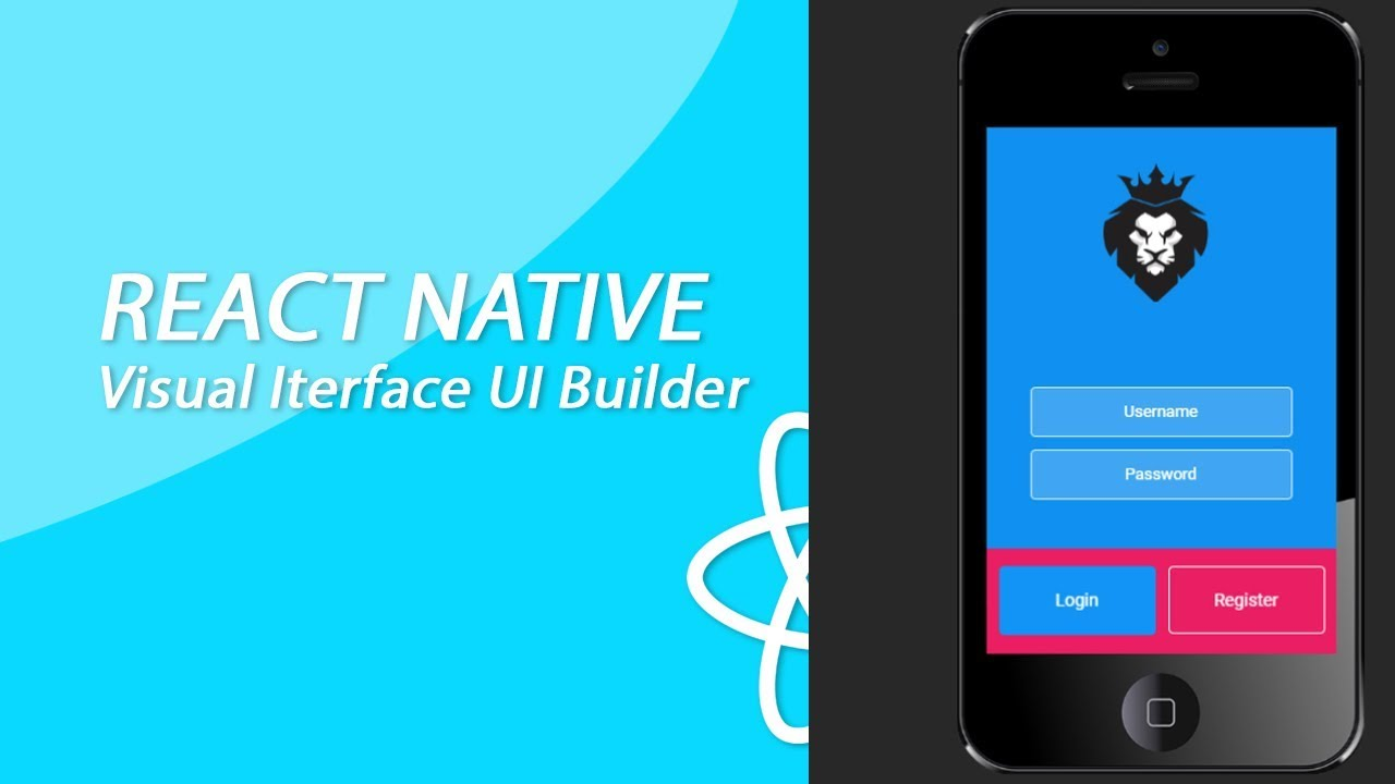 React Native Drag And Drop App Builder #7 - Creating A Simple Login Screen