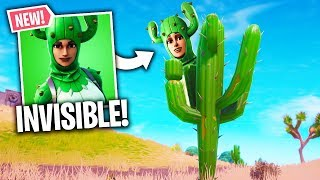 DELOR INVISIBLE WITH THE NEW SKIN FORTNITE! 🔥 THE BEST OF FORTNITE#136