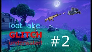 Fortnite kills and funny moments montage #2 | LOOT LAKE GLITCH UNDER THE WATER!!!