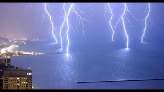 strong lightning storm in May 2015 (Spain) HD