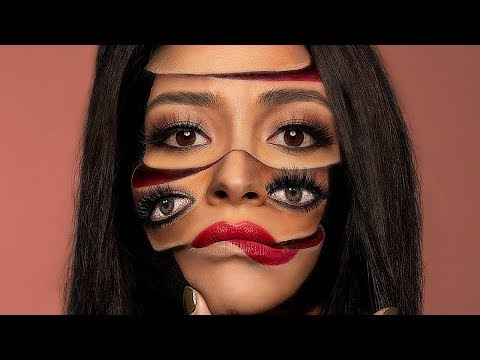 My Insane Surreal Makeup Look with Mimi Choi!  Shay Mitchell