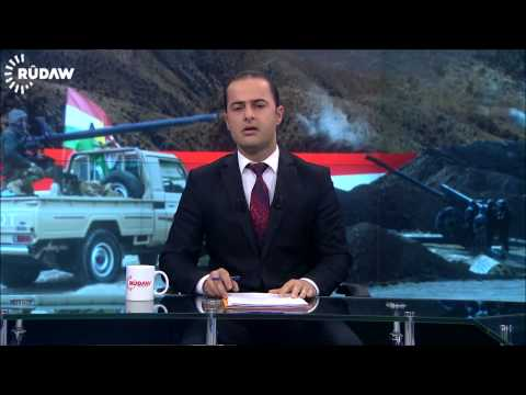 Kurdish TV News reporter, anchor break down crying reporting ISIS genocide of the Yazidis